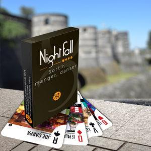 Jeu de cartes Nightfall Angers