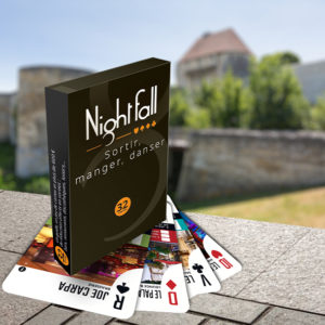 Jeu de cartes Nightfall Caen