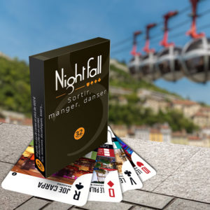 Jeu de cartes Nightfall Grenoble
