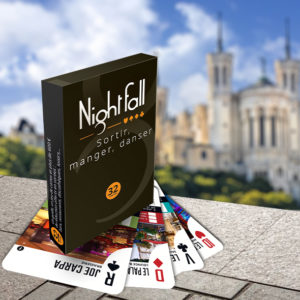 Jeu de cartes Nightfall Lyon