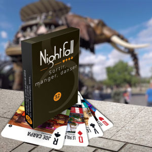 Jeu de cartes Nightfall Nantes