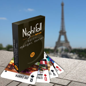 Jeu de cartes Nightfall Paris