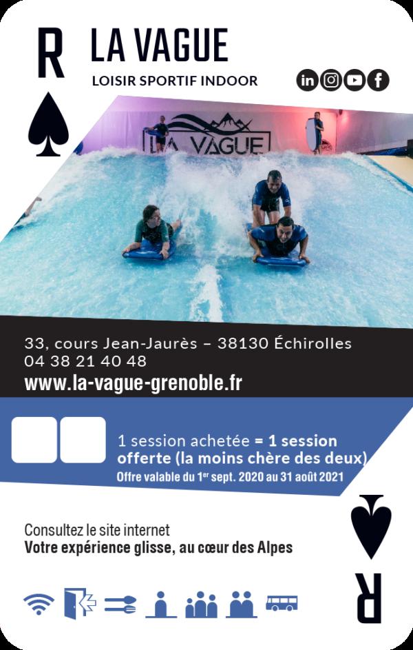 carte roi de pique Grenoble