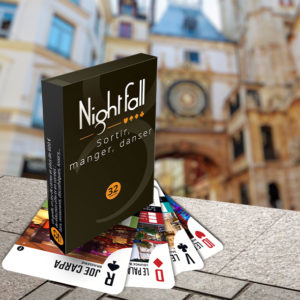 Jeu de cartes Nightfall Rouen