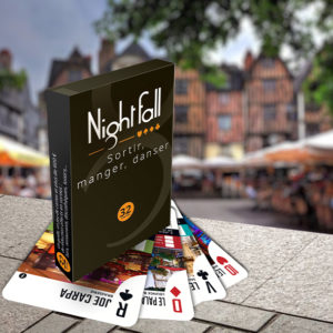 Jeu de cartes Nightfall Tours