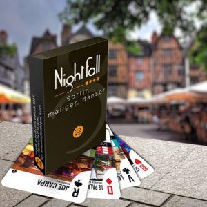 Jeu de cartes Nightfall Tours